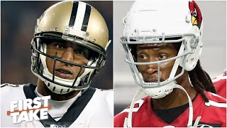 DeAndre Hopkins vs. Michael Thomas: First Take debates which WR is the most clutch