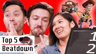 Film Critic Ranks Top 5 Pixar Films • Top 5 Beatdown