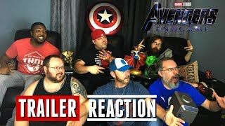 Avengers Endgame Final Trailer Reaction