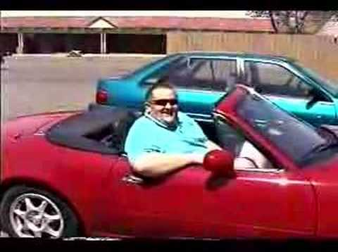 Fat Guy In Small Car 85