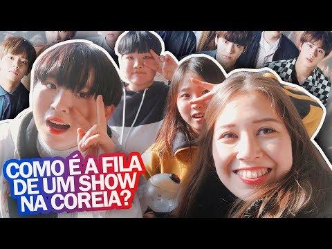 PASSEI UMA TARDE NA FILA DO SHOW DO BTS NA COREIA DO SUL