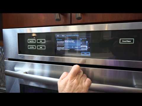 Jenn-Air Wall Oven Culinary Center Guided Cooking Mode Live Demo