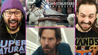 GHOSTBUSTERS: AFTERLIFE TEASER (CLIP) REACTION!! Trailer | Mini Stay Puft Ghosts | New Footage