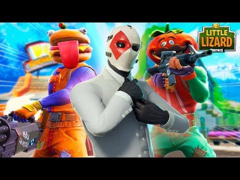 TOMATO HEAD & BEEF BOSS VS WILDCARD!!! - Fortnite Short Film