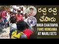 Watch: Naga Chaitanya Fans HUNGAMA at Majili Sets- Samantha