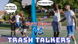 Trash Talkers Get Exposed! Heated 5v5 basketball At The park!!!