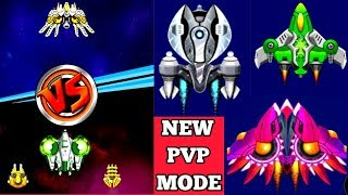 New PvP Mode   New Ships Thunder & light Strom   Space Shooter Galaxy Attack 2019