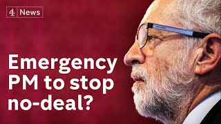 /could corbyn lead anti no deal brexit government