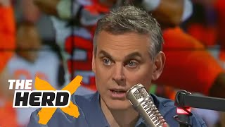 Colin Cowherd responds to Dabo Swinney calling him a fraud | THE HERD