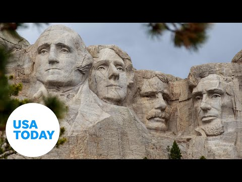 President Trump participates in 2020 Mount Rushmore Fireworks Celebration (LIVE)  | USA TODAY