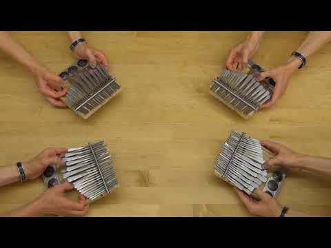 If Bach Were From Zimbabwe—Prelude and Fugue in C on mbiras (thumb pianos)