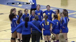 Volleyball Playoffs: Coon Rapids Vs. St. Michael-Albertville 10/25/16 (Full Game)