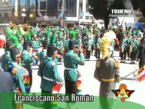 Franciscano San Román - concurso de bandas 2008