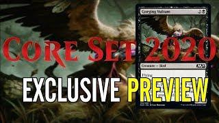 Mtg Core Set 2020 Exclusive Preview Card - Gorging Vulture!