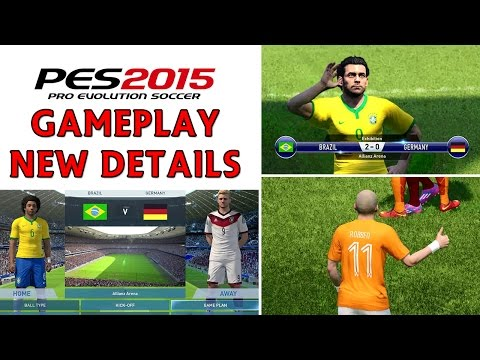 [TTB] PES 2015 Gameplay - PS4 - Gamescom 2014 Details - Release Date, Demo and More!