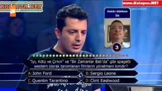 Kim Milyoner Olmak Ister 264. bölüm Mustafa Çavuşoğlu 25.09.2013