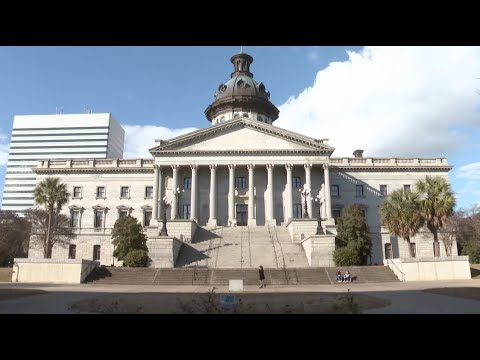 screenshot of youtube video titled This Week in South Carolina | Confederate Monuments and Memorials