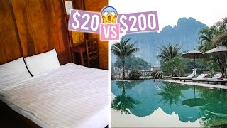 $20 Hotel Room Vs. $200 Hotel Room in South East Asia