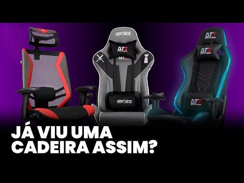 Cadeiras Gamer exclusivas DT3sports | Nunca vista antes