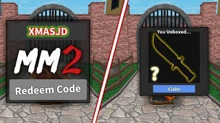 GIVING AWAY MORE MM2 GODLY KNIFE CODES! (Roblox)