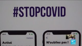 Coronavirus: Contact-tracing app 'StopCovid' to be launched in France