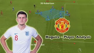 Harry Maguire - Player Analysis - Welcome to Man United