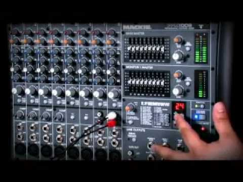 mackie ppm series powered mixer youtube. Black Bedroom Furniture Sets. Home Design Ideas