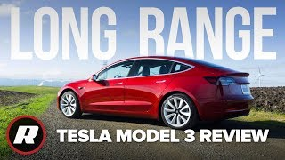 Tesla Model 3 Long Range Review: So close to perfect