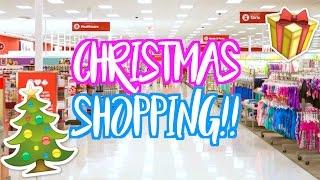 CHRISTMAS SHOPPING WITH ASHLEY!! Vlogmas Day 9!