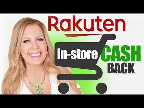 How Does Rakuten (Ebates) Work In Store