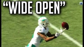 NFL Biggest Wide Open Pass Drops || HD