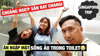 Song Thư Choáng Ngợp Với Sân Bay Singapore- Check in Khách Sạn Mới Ngày Đầu Tiên