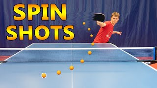 Top 10 Table Tennis Spin Shots