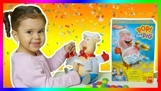 Ruby Plays Pop The Pig Fun Game With Mommy