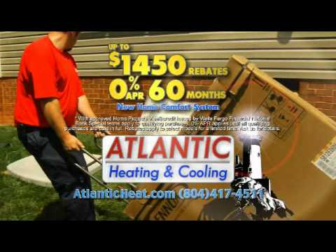Atlantic Heat Home Comfort System Rebates Spring 2013
