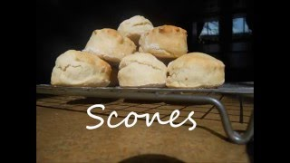 How to Make Very Quick Very Easy Scones