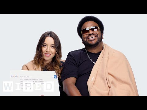Aubrey Plaza & Craig Robinson Answer the Web's Most Searched Questions   WIRED