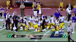 Wofford College football player goes into cardiac arrest during a game