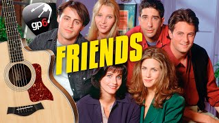 FRIENDS Theme Song on Acoustic Guitar. Fingerstyle Guitar Tabs and Karaoke Lyrics