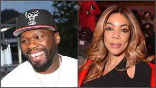 "50 Cent TR0LLS Wendy Williams After Her Husband ""KnockedUp"" SideChick"