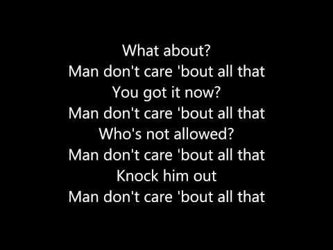 JME - Man Don't Care ft. Giggs (Lyrics)
