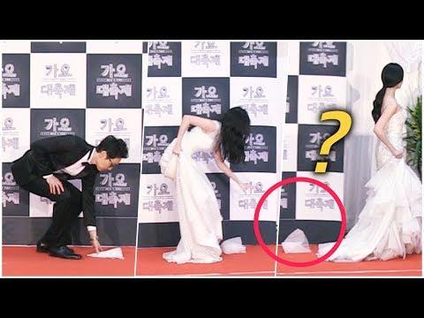 소녀시대(SNSD) 서현(Seohyun) 드레스가 그만... (feat.귀요미 유라) @KBS 가요대축제