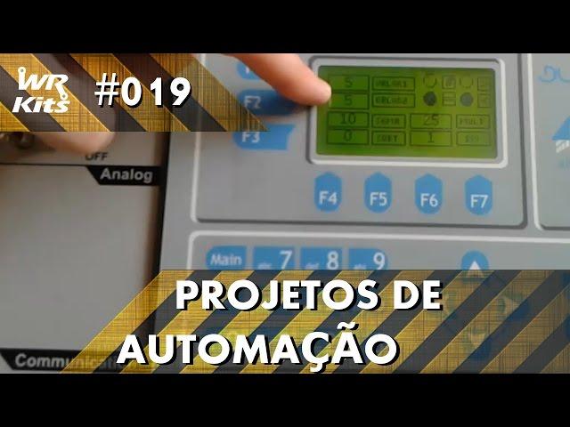 CONTROLE DE ESTOQUE COM CLP ALTUS DUO | Projetos de Automação #019
