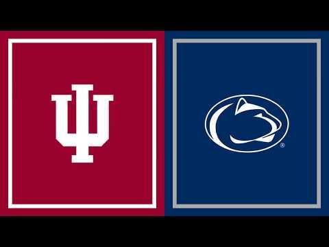 First Half Highlights: Indiana at Penn State   B1G Football