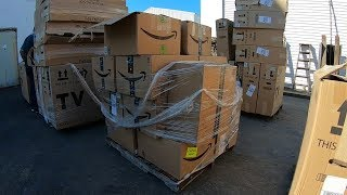 I bought a pallet of Amazon Overstock for $10 - Unboxing
