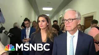 Hope Hicks Refused To Answer 155 Questions During House Testimony | Hardball | MSNBC