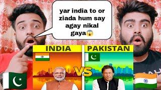 India Vs Pakistan 2021 Country Comparison Unbiased By |Pakistani Bros Reactions|