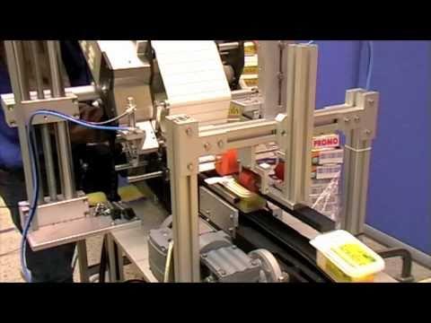 C wrap labelling system (tamper evident labelling)