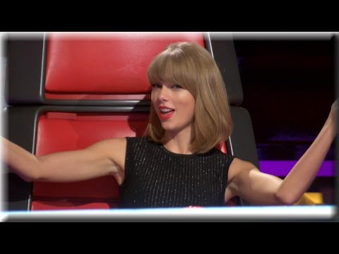 Taylor Swift | Dancing, Tall People & Lots of Taylors | The Voice Season 7 Knockout Rehearsals