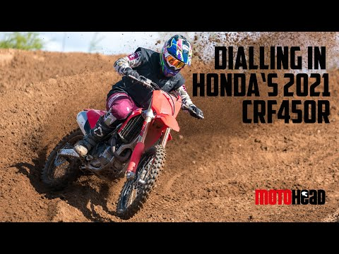 Real world test: Getting Honda's newest CRF450R dialled in for action